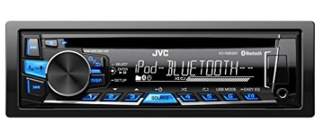JVC KD-R862BTE USB/CD-Receiver (Bluetooth) inkl. A2DP schwarz-Blau -