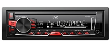 JVC KD-X220 Digital Media Receiver mit Front-USB/AUX schwarz -
